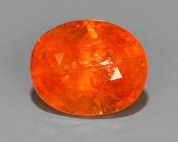 ~5.15 CTS MARVELOUS RARE NATURAL TOP FANTA-SPESSARITE DAZZLING ~