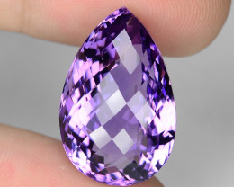 23.03 Cts Amazing Rare Natural Purple Amethyst Loose Gemstone