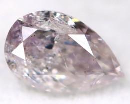 Purplish Pink Diamond 0.23Ct Natural Untreated Fancy Diamond BM0811