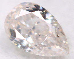 Peach Pink Diamond 0.19Ct Natural Untreated Fancy Diamond BM0815