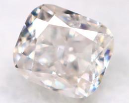 Peach Pink Diamond 0.14Ct Natural Untreated Fancy Diamond BM0817