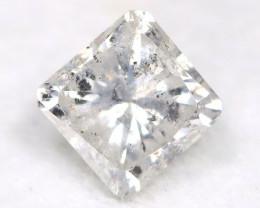 Salt and Pepper Diamond 0.51Ct Natural Untreated Fancy Diamond C3111