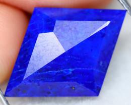 7.26Ct Kite Cut Untreated Natural Afghanistan Blue Color Lapis Lazuli B3115