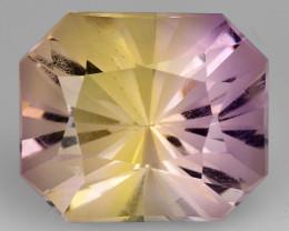 4.44 Cts Bolivian Ametrine Stunning Luster & Cut Gemstone  Am13