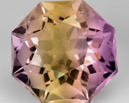 4.34 Cts Bolivian Ametrine Stunning Luster & Cut Gemstone  Am17