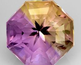 4.18 Cts Bolivian Ametrine Stunning Luster & Cut Gemstone  Am22