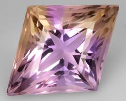 5.38 Cts Bolivian Ametrine Stunning Luster & Cut Gemstone  Am25