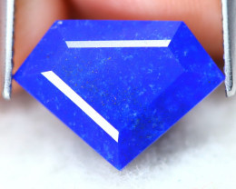 4.11Ct Untreated Natural Afghanistan Blue Color Lapis Lazuli A0112