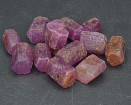 Natural RubyCrystal Type Rough 102 Cts Lot