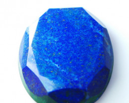 NR!! 158.25 CT Natural - Unheated Lapis Faceted Cut stone