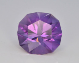 6.10 CT Natural Gorgeous Color Fancy Cut Amethyst~ AAD