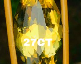 26.80CTLEMON QUARZ- CEYLON- COLLECTOR QUALITY