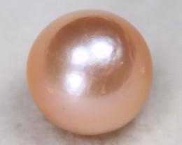 South Sea Pearl 12.3mm Natural Australian Pink Color Salt Water Pearl C0103