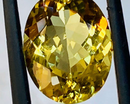 5.19CT  HELIODOR BERYL GOLD COLOR