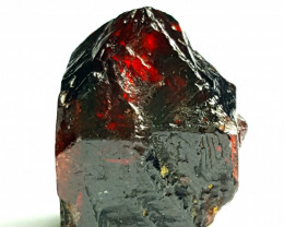 Amazing Rare Natural Blood color Damage free Zircon Crystal have good luste