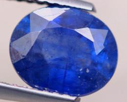 2.77ct Ceylon Blue Sapphire Oval Cut Lot V7720