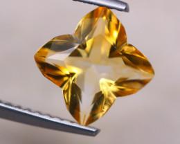 1.51ct Natural Yellow Citrine Fancy Cut Lot D377
