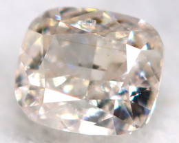 Yellowish Pink Diamond 0.11Ct Natural Untreated Fancy Diamond BM0837
