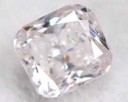 Peach Pink Diamond 2.7mmNatural Untreated Fancy Diamond BM0842