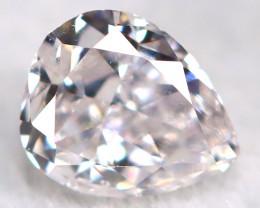Peach Pink Diamond 0.12Ct Natural Untreated Fancy Diamond BM0844