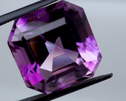 15.87 CT Unheated Intense Purple Amethyst (Uruguay)