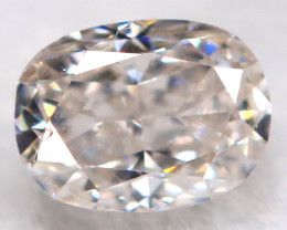 Peach Pink Diamond 0.16Ct Natural Untreated Fancy Diamond BM0845