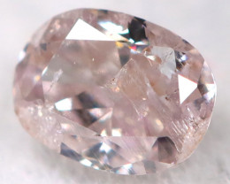 Purplish Pink Diamond 0.10Ct Natural Untreated Fancy Diamond BM0848