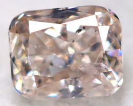 Champagne Pink Diamond 0.14Ct Natural Untreated Fancy Diamond BM0849