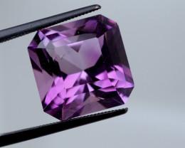 9.29 CT Unheated Intense Purple Amethyst (Uruguay)