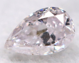 Pink Diamond 3.7mm Natural Untreated Fancy Diamond BM0851
