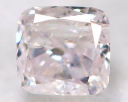 Peach Pink Diamond 0.10Ct Natural Untreated Fancy Diamond BM0853