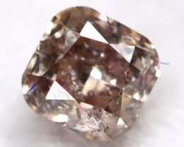 Purplish Pink Diamond 0.10Ct Natural Untreated Fancy Diamond BM0879