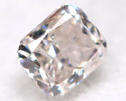 Pink Diamond 0.10Ct Natural Untreated Fancy Diamond BM0882