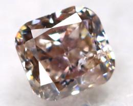 Purplish Pink Diamond 0.10Ct Natural Untreated Fancy Diamond BM0885