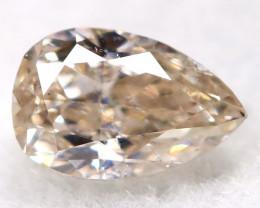 Peach Pink Diamond 0.22Ct Natural Untreated Fancy Diamond BM0887