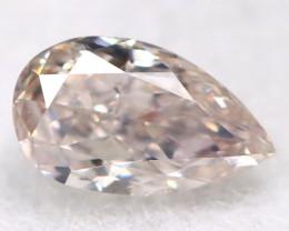 Peach  Pink Diamond 0.10Ct Natural Untreated Fancy Diamond BM0862