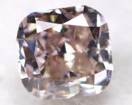 Purplish Pink Diamond 0.11Ct Natural Untreated Fancy Diamond BM0891
