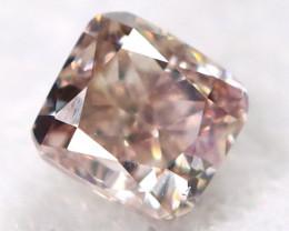 Purplish Pink Diamond 2.3mm Natural Untreated Fancy Diamond BM0899