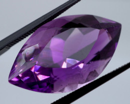 18.51 CT Unheated ROYAL DEEP RUSSIAN Purple Amethyst (Russia)