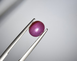 Natural Star Ruby 2.26 Cts from Guinea