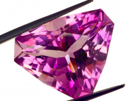 $930 Retail! 30.38 CT Unheated Rose de France Pink Purple Amethyst (Russia)