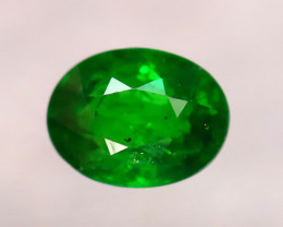 Tsavorite 0.71Ct Natural Intense Vivid Green Color Tsavorite Garnet D0214