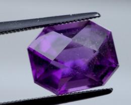 4.18 CT Unheated Rich Purple Amethyst (Uruguay)