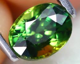 Parti Sapphire 1.03Ct VS2 Oval Cut Natural Australian Parti Sapphire A0201