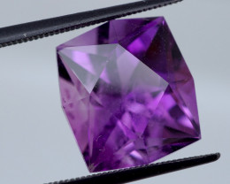 9.56 CT Unheated Rich Purple Amethyst (Uruguay)