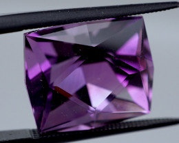 12.79 CT Unheated Rose de France Pink Purple Amethyst (Russia)