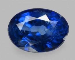 1.08 Cts Amazing Rare Natural Fancy Blue Ceylon Sapphire Loose Gemstone