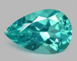 1.35 Cts Un Heated Natural Green Apatite Loose Gemstone