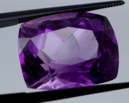 14.24 CT Unheated Intense Purple Amethyst (Uruguay)