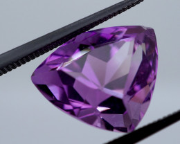 6.35 CT Unheated Intense Purple Amethyst (Uruguay)